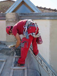 Travaux de maçonnerie en hauteur