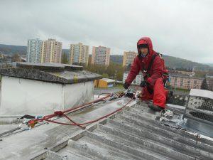 horizon vertical sécurité en hauteur travaux acces difficile en hauteur