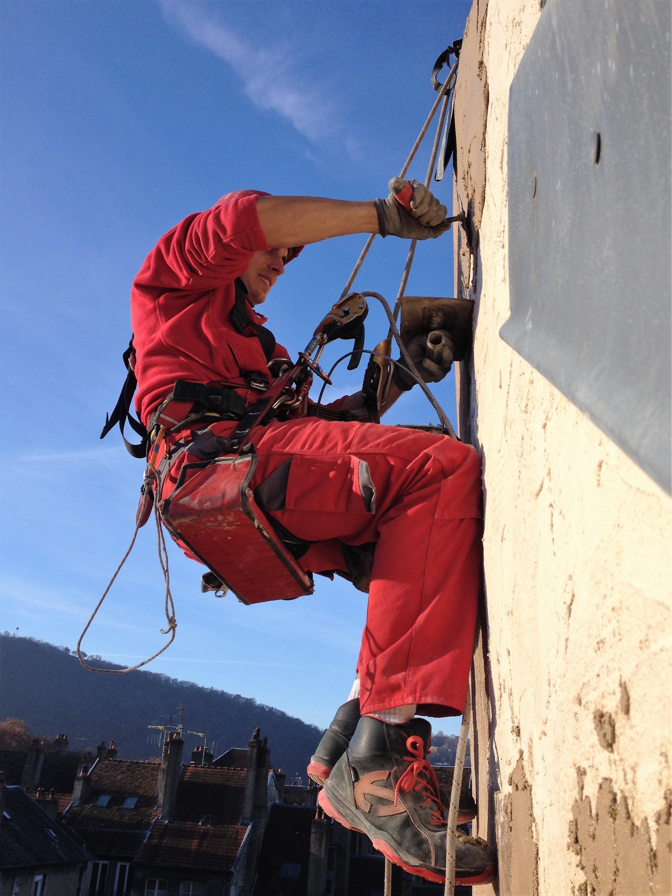 horizon vertical travaux difficile en hauteur